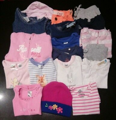 Bulk lot baby girls clothing, size 1