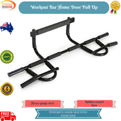 Workout Wall chinup Fitness Bar Home Exercise Door Portable Chin Pull Up Abs gym