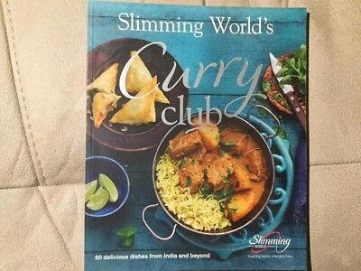 slimming world curry club book