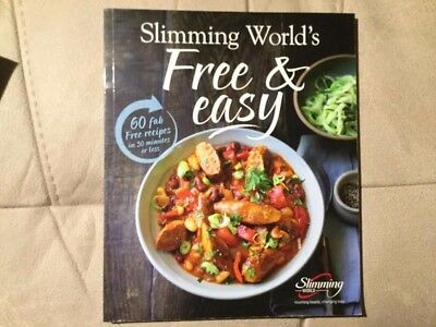 Slimming world Free and Easy book used but in good condition