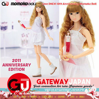 Love DHEXl 10th Anniversary Momoko Doll by PetWORKs + Sekiguchi! With MINI DOLL!