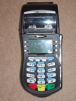 "Credit Card Terminal POS ""Old style no tap and go"" Optimum T4220"