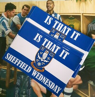 Sheffield Wednesday Is That It 20 Stickers