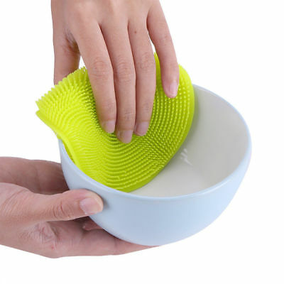 Multifunction Silicone Washing Brush Fruits Vegetables Cleaning Dishwash Brush