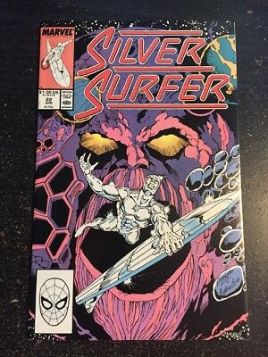 Silver Surfer#22 Incredible Condition 9.4(1989) Ego App,Ron Lim Art