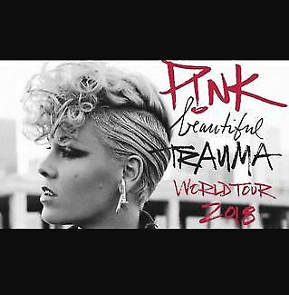 2 x Pink Concert Tickets for Perth Arena (General Admission)