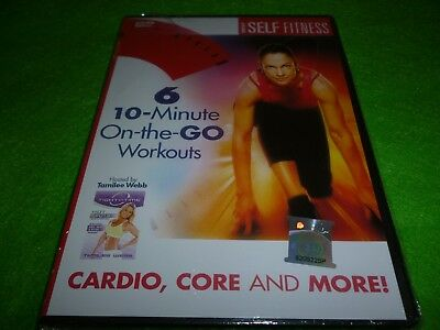 6 10-Minute On-The-Go Workouts By Tamilee Webb Dvd *new*