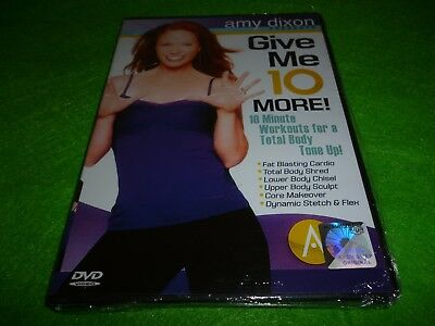 10 Min Solution 10 Minute Workouts To Shape Up Whole Body Dvd *new*