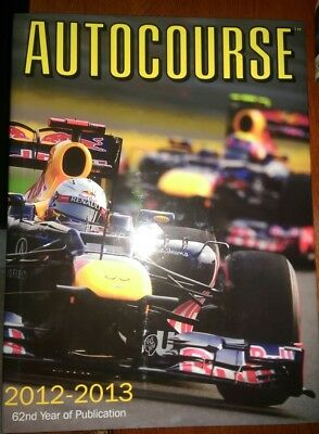 Autocourse Annual 2012-2013 Red Bull Racing Edition 62nd Year of Publication