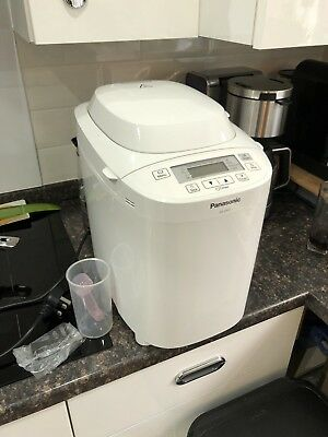 Panasonic SD-2501 Breadmaker With Fruit & Nut Dispenser - White
