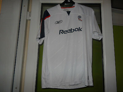 bolton football shirt - large mens
