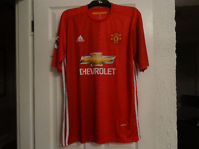 Manchester united football shirt - 2XL Men - Pogba 6 - New No tag Red