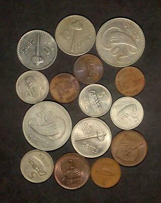 Small selection of coins from Fiji (60g)