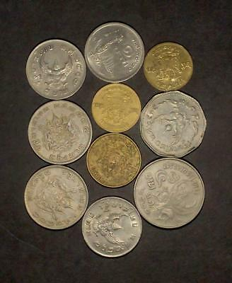 Selection of coins from Thailand (60g)