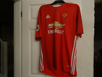 Manchester united football shirt - 2XL Men -Ibrahimovic 9  - New No tag