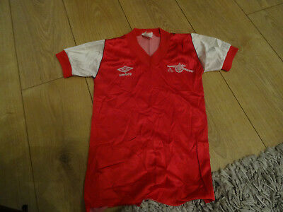 Arsenal football shirt - 1982-84 - Small boys 26/28