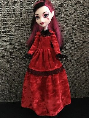 Velour  Victorian Style Dress for Monster High Doll