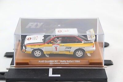 Fly Slot Car - 88258 - Audi Quattro - #1 - 1984 African Rally - Scalextric