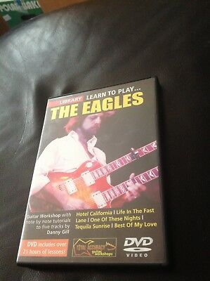 Lick Library Learn To Play The Eagles (Iinstructional DVD)