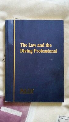 PADI The law an the Diving professional