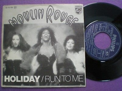 MOULIN ROUGE Holiday SPAIN 45 1979 Disco BEE GEES