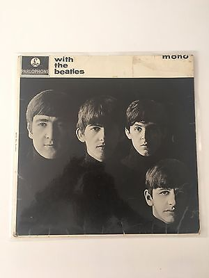 The Beatles  With The Beatles LP UK 1963 Mono 2nd Press Garrod & Lofthouse print