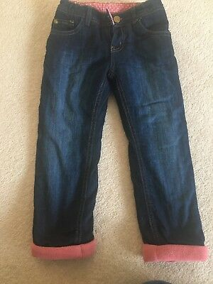 Girls 3-4yr Old Padded Winter Jeans, perfect for winter walks!!