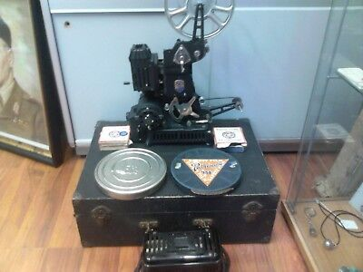 Vintage 1930s Pathescope Pathe Lux 9.5mm projector Serial No. 006837 YA French