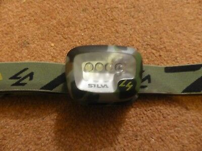 Silva Military Afghanistan British Army Rare L4 LED Headtorch