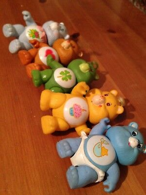 VINTAGE CARE BEARS POSEABLE FIGURES 1980s - Lot 2