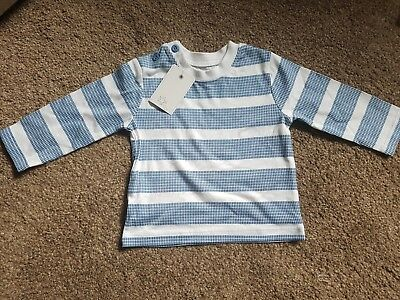 Baby boy long sleeved top 0-3 months