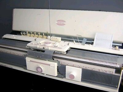 Brother Chunky Punchcard Knitting Machine Package KH 260 with KR 260 Ribber