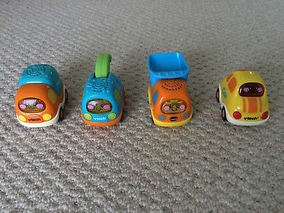 vTech Toot Toot four vehicle truck and car bundle