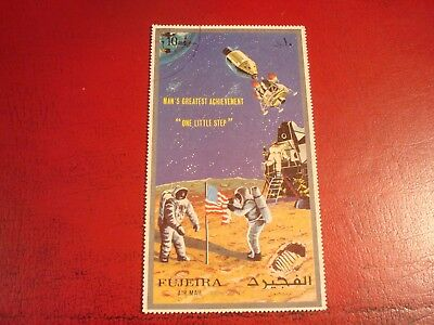 Fujeira - Space - Minisheet - Unmounted Used Miniature Sheet