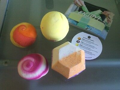 Lush Bath Bombs x 4 brand new unwanted gift