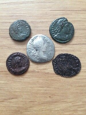Lot 16 5 Unresearched Top Quality Roman Coins