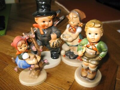 Hummel figures. All in excellent condition, a nice addition to a collection.