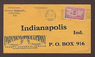 mjstampshobby 1929 US Paramount Optical Company Cover Used (Lot4146)