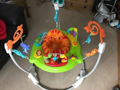 Fisher Price Rainforest Jumperoo. Baby Bouncer