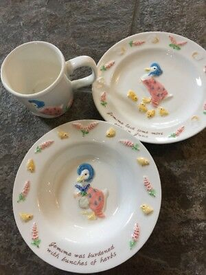 Jemima Puddleduck Beatrix Potter China Set