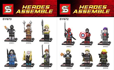 21-10 SY Custom minifigure Super Heroes Choose ONE