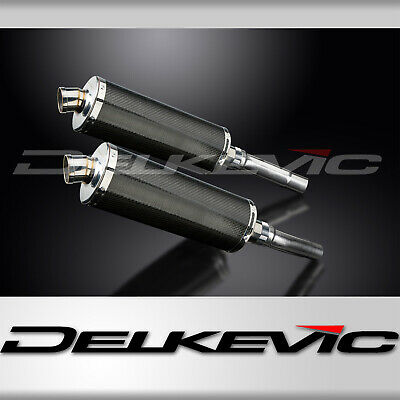 DUCATI MONSTER 620/695/800 2002-2008 350mm CARBON ROAD LEGAL SILENCERS EXHAUST