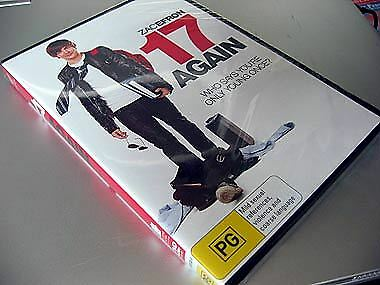 DVD Movie Video Disc NEW: Zac Efron 17 Again