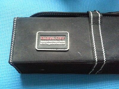 knife bag global chef...USE BUT IN EXCELLENT  CONDITION..