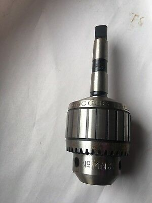 Jacobs Chuck No. 14N Capacity 0-1/2