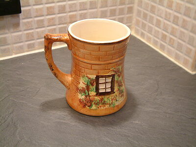 """Very Nice Hand Painted """"Cottage Ware"""" Tankard By Price Brothers c1930s"""