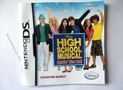 48789 Instruction Booklet - High School Musical Makin' The Cut ! - Nintendo