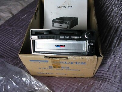 Car 8 (Eight) Track Player / Stereo MADE IN TOKYO JAPAN NEW