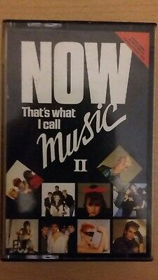 now that's what i call music 2 audio cassette tapes