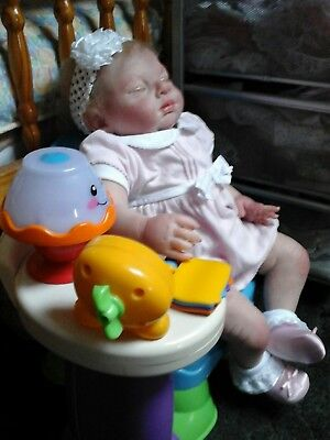 Easton REBORN BABY Girl Amy Big Chubby toddler by Michelle  Fagan